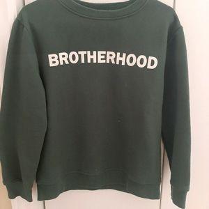 Zara khaki green sweater